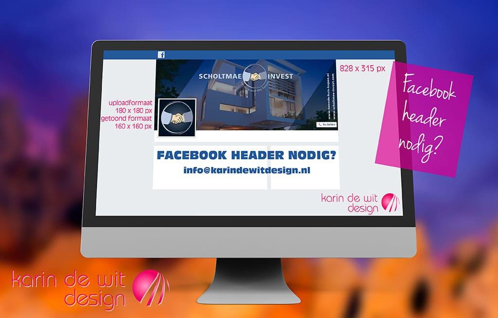 Facebook ontwerp