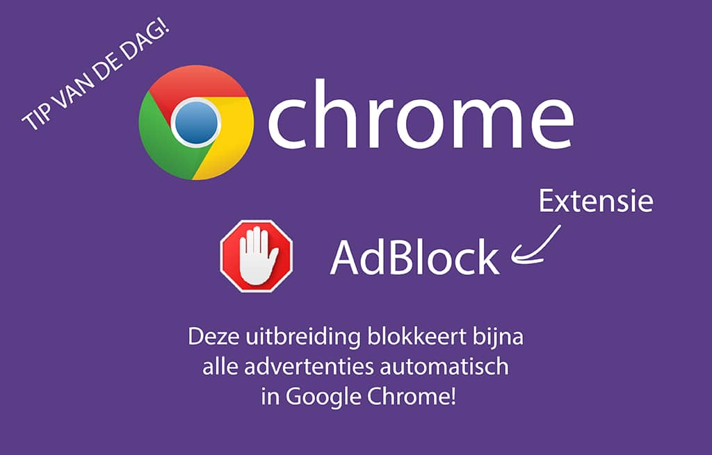 Populaire Chrome-extension AdBlock