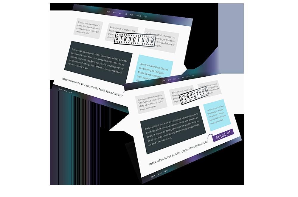 teksten structuur content design