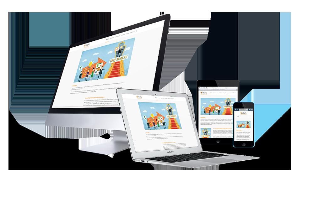 responsive website voorbeeld