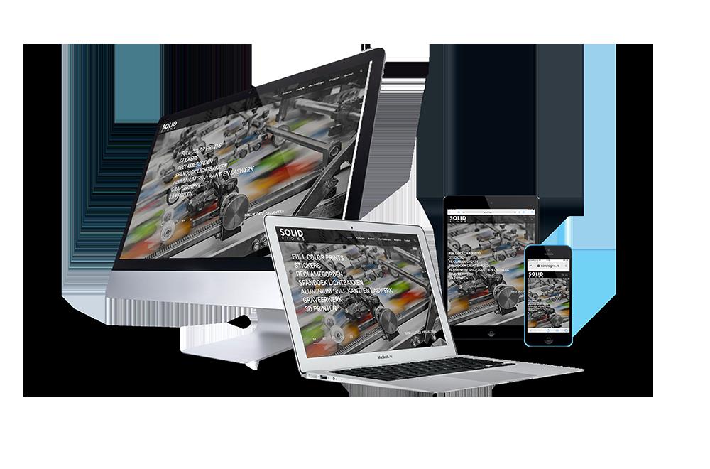 responsive website solidsigns