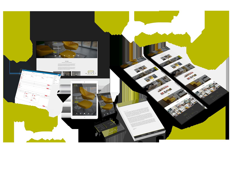 Starterspakket 2 huisstijl en wordpress website